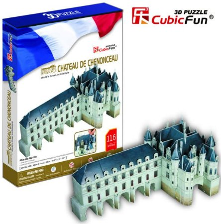 CubicFun - Château de Chenonceau - Puzzle 3D