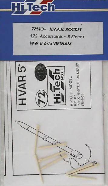 HI-TECH - H.V.A.R. ROCKET - 1/72