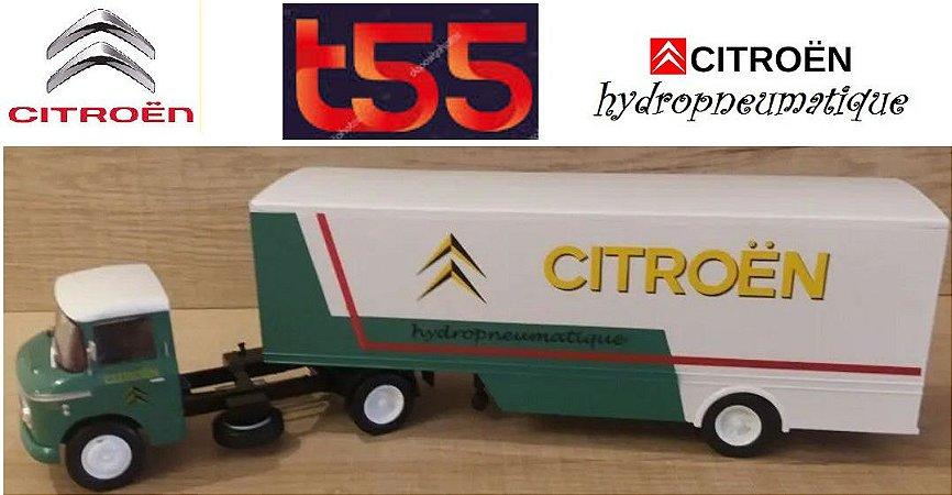 Ixo - Caminhão Citröen T55 Heu - Citroën Pneumátique - 1/43