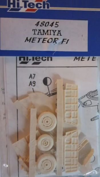 HI-TECH - GLOSTER METEOR F1 - 1/48