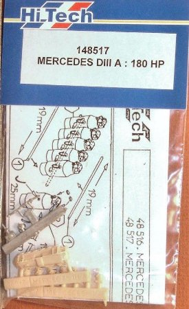 HI-TECH - ENGINE MERCEDES D.IIIA - 1/48