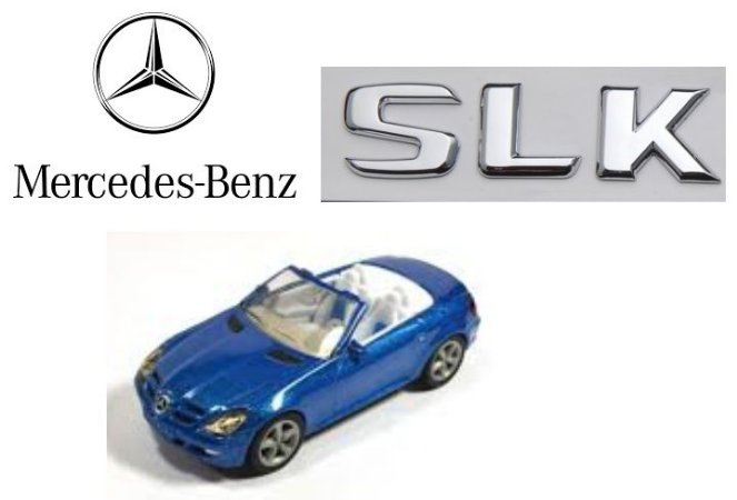 Siku - Mercedes-Benz SLK - 1/55