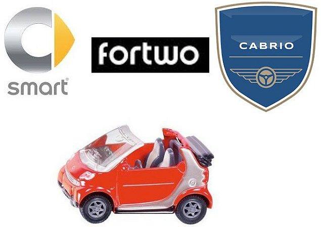 Siku - Smart Fortwo Cabrio - 1/55