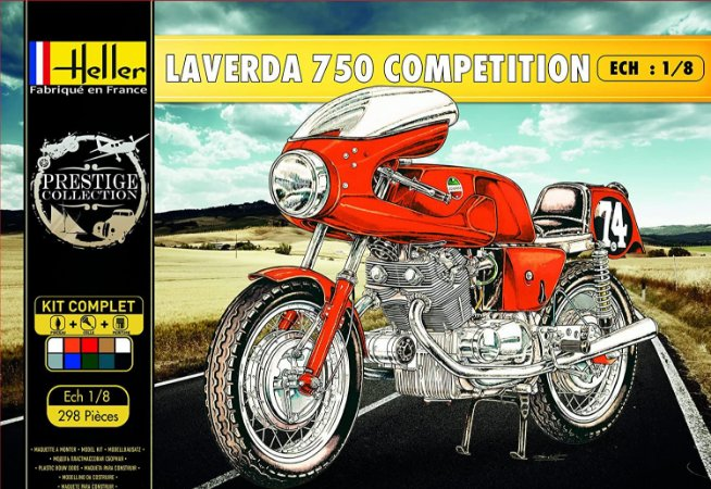 Heller - Laverda 750 Competition - 1/8