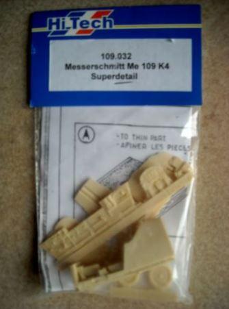 HI-TECH - MESSERSCHMITT BF-109 K4 - 1/48