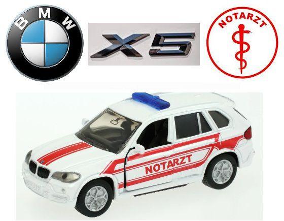 Siku - BMW X5 Notarzt (Serviço Médico de Emergência da Alemanha) - 1/55