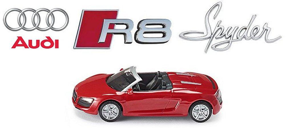 Siku - Audi R8 Spyder - 1/55