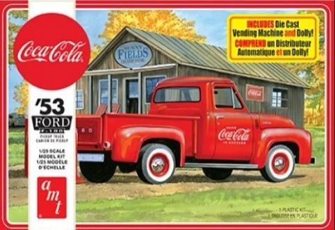 AMT - Ford F-100 1953 (Coca-Cola) - 1/25