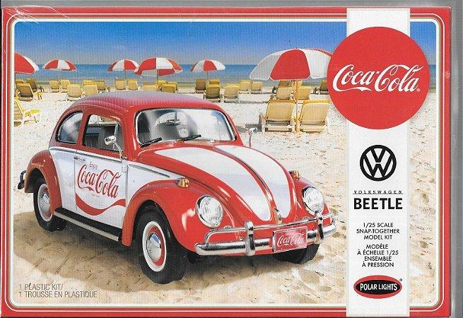 Polar Lights - Volkswagen Fusca (Coca-Cola) Snap Kit - 1/25