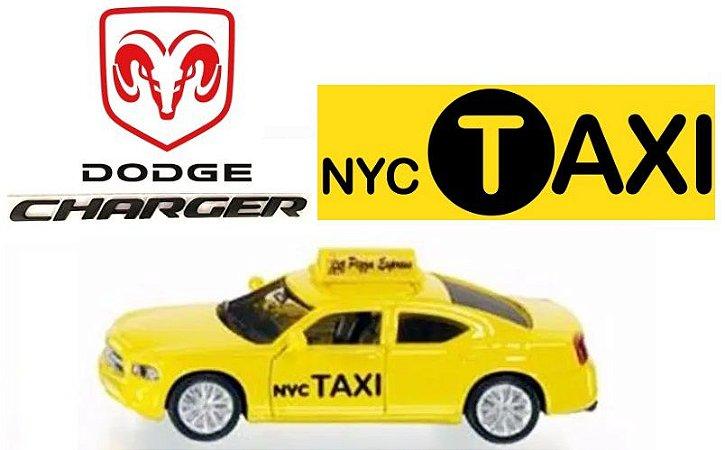 Siku - Dodge Charger NYC Taxi (Taxi de Nova York) - 1/55