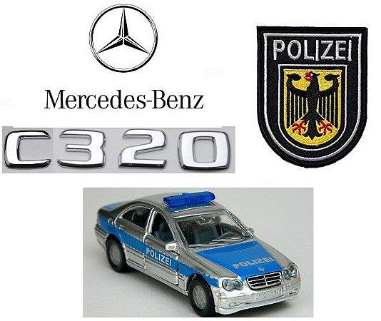 Siku - Mercedes-Benz C320 Polizei (Polícia Alemã) - 1/55