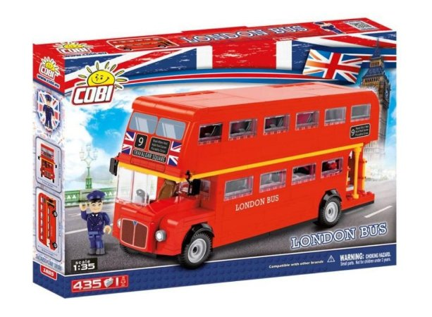 COBI - LONDON BUS - BLOCOS DE MONTAR