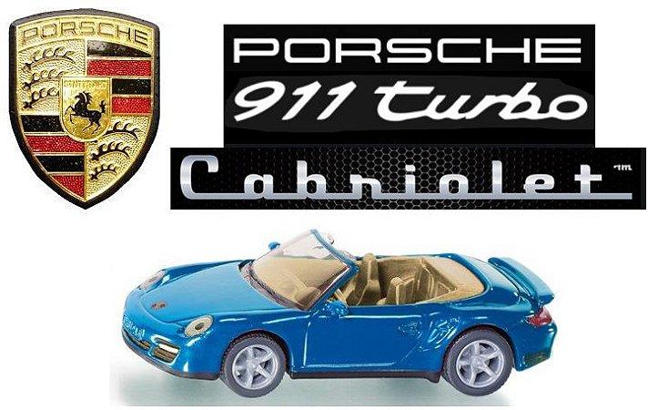 Siku - Porsche 911 Turbo Cabriolet - 1/55