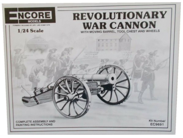 Encore Models - Revolutionary War Cannon - 1/24