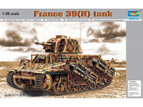 TRUMPETER - FRANCE 39(H) - 1/35