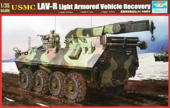 TRUMPETER - LAV-R LIGHT ARMORED VEHICLE RECOVERY- 1/35