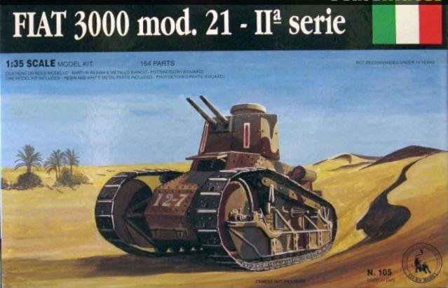 FIAT - FIAT 3000 - 1/35