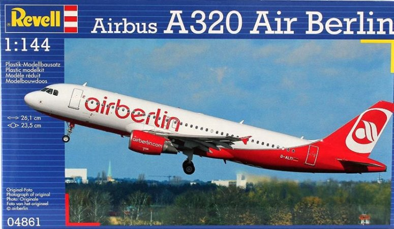 Revell - Airbus A320 Air Berlin - 1/144
