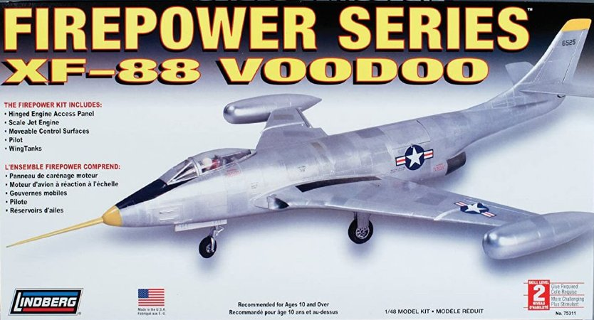 LINDBERG - XF-88 VOODOO - 1/48
