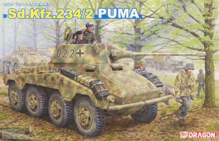 DRAGON - SD.KFZ. 234/2 PUMA - 1/35