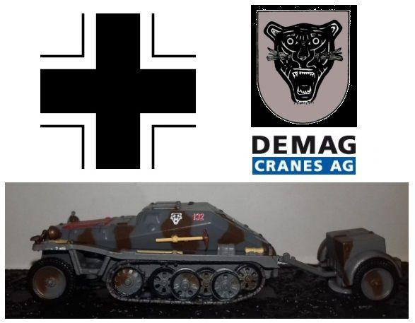 Coleção Blindados de Combate Planeta deAgostini - Sd. Kfz. 252 + Anh. 3 1/1 StuG. Abt 210 - 1/72