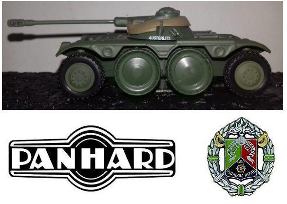 Coleção Blindados de Combate Planeta deAgostini - Panhard EBR-75 FL 11 1er REC Légion Étrangère Algeria 1957 - 1/72