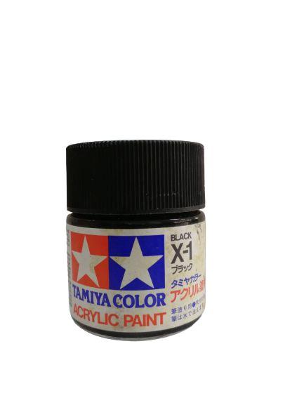 Tamiya - Acrylic X-1 - Gloss Black
