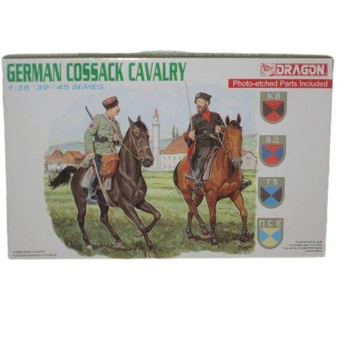 DRAGON - GERMAN COSSACK CAVALRY (´39 ~ ´45) - 1/35