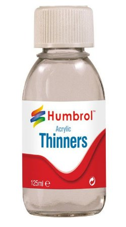 HUMBROL - ACRYLIC THINNERS - 125ML