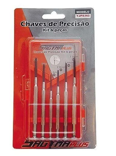 SAGYMA - CHAVES DE PRECISÃO (COM 6 PEÇAS)