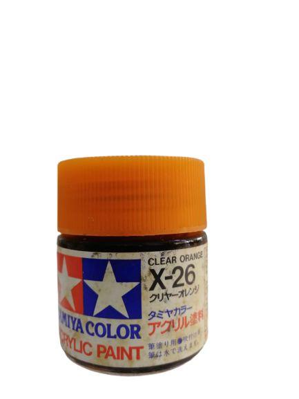 Tamiya - Acrylic X-26 - Clear Orange