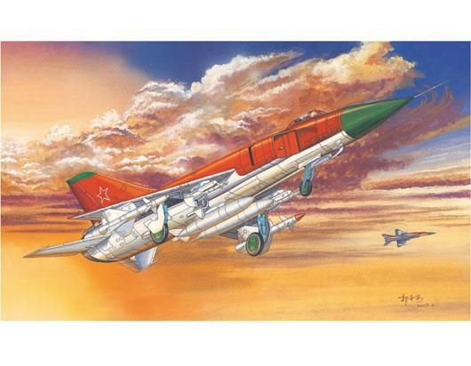 TRUMPETER - SU-15 FLAGON-A 1/72
