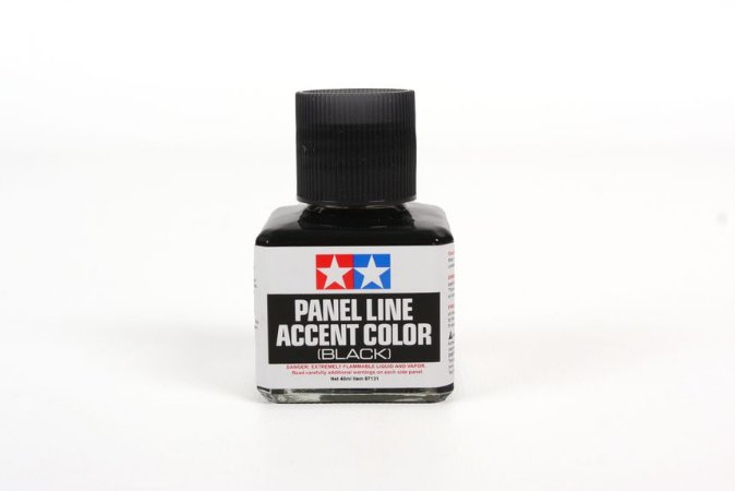 TAMIYA - PANEL LINE ACCENT COLOR (WASH BLACK) - 40ML