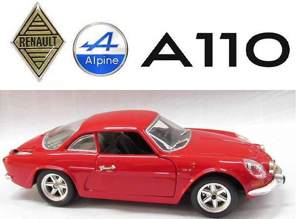 Burago - Renault Alpine A110 (sem caixa) - 1/24