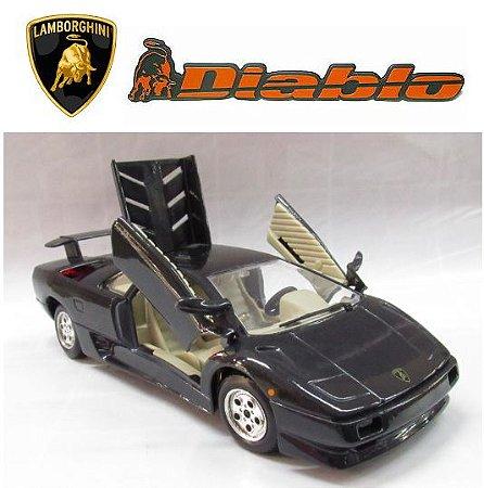 Burago - Lamborghini Diablo 1990 (sem caixa) - 1/24