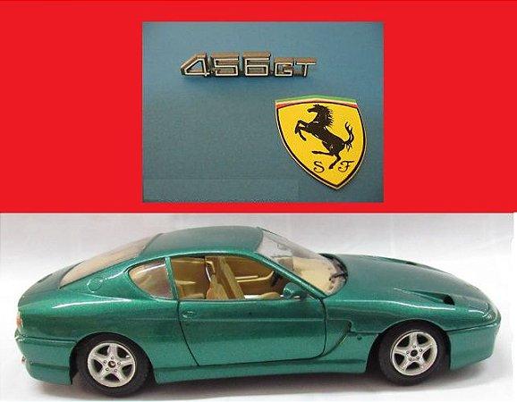Burago - Ferrari 456 GT 1992 (sem caixa) - 1/24