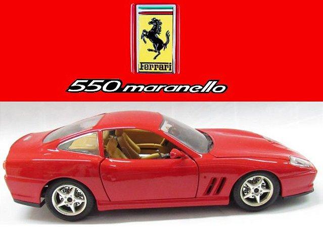 Burago - Ferrari 550 Maranello 1996 (sem caixa) - 1/24