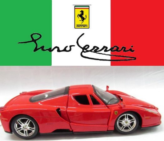 Maisto - Ferrari Enzo (sem caixa) - 1/24