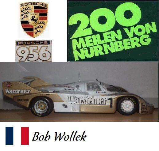 Quartzo - Porsche 956 Short Tail Norisring Nürnberg 200 - 1/43