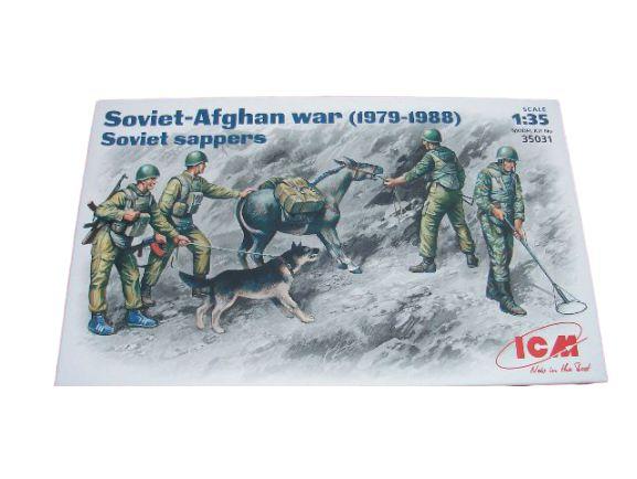 DUPLICADO - ICM - SOVIET-AFGHAN WAR (1979-1988) - SOVIET SAPPERS - 1/35