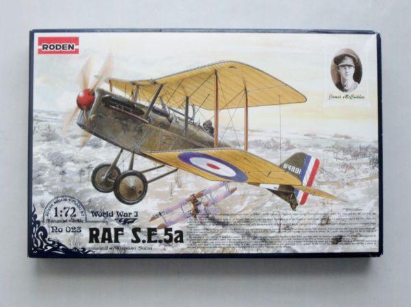 RODEN - RAF S.E.5.a - 1/72