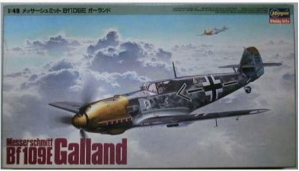 HASEGAWA - MESSERSCHMITT BF109E 'GALLAND' - 1/48