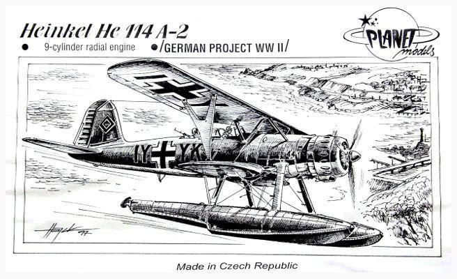 PLANET MODELS - HEINKEL HE 114 A-2 - 1/72