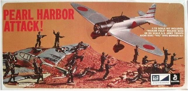 MPC - PEARL HARBOR ATTACK - 1/72