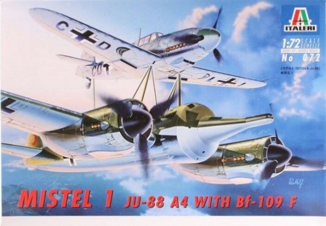ITALERI - MISTEL 1 (JU-88 / BF-109 F) - 1/72