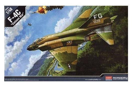 "Academy - F-4C ""Vietnam War"" - 1/48"