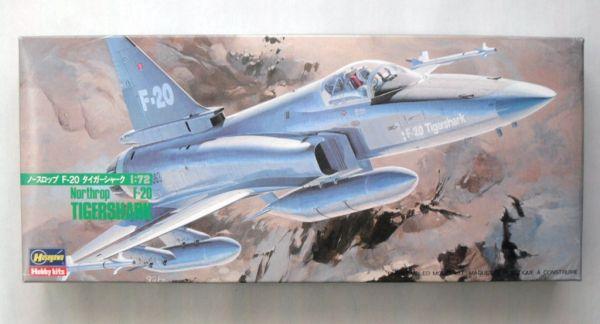 HASEGAWA - F-20 TIGERSHARK - 1/72