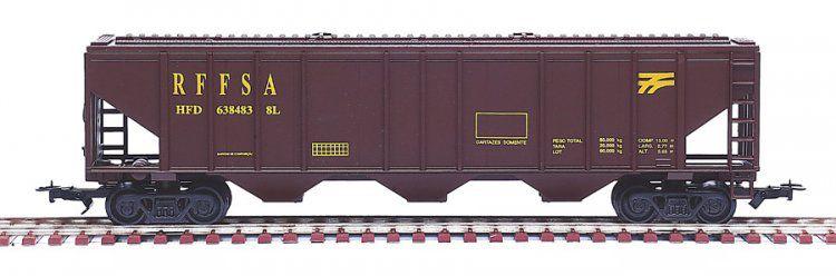 Frateschi - Vagão Hopper RFFSA (Rede Ferroviária Federal S/A) - HO