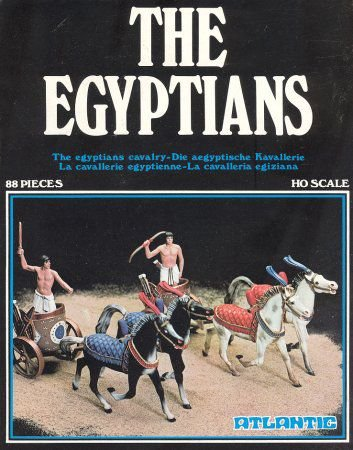 ATLANTIC - THE EGYPTIANS - 1/87