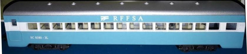 Frateschi - Vagão de Passageiros de Segunda Classe RFFSA Curitiba - HO